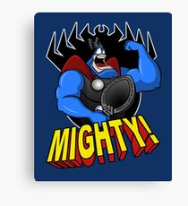 The Mighty Tick Canvas Print