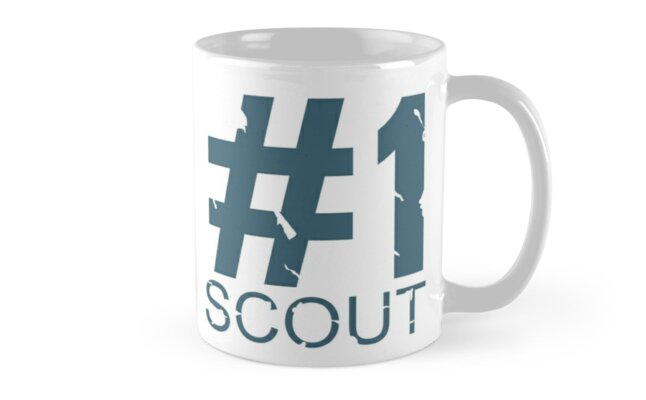Scout Mug Design (BLU) by Ilona Iske