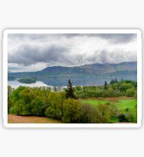 Derwentwater Lake District Sticker