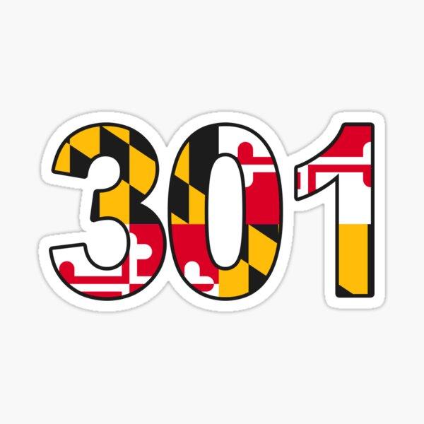 301- Maryland Sticker