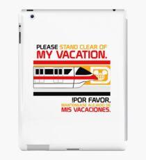 Monorail iPad Case/Skin