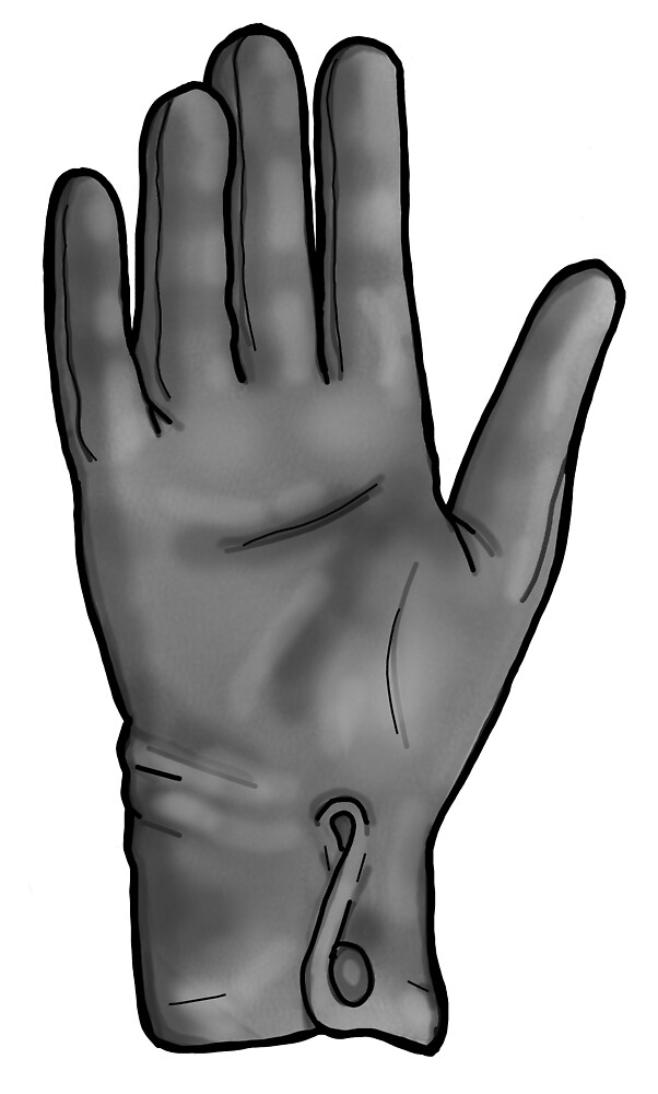 Talk To The Hand (Grey) by sianbrierley