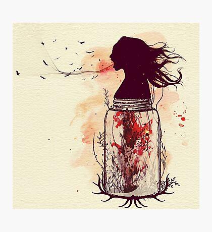 the scream jar Photographic Print