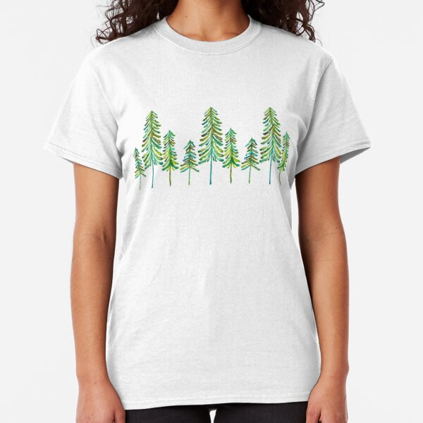 Kiefern - Grüne Palette Classic T-Shirt