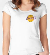 los angeles lakers best logo Women's Fitted Scoop T-Shirt