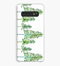 Pine Trees – Green Palette Case/Skin for Samsung Galaxy