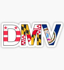 DMV-DC-Maryland-Virginia Sticker
