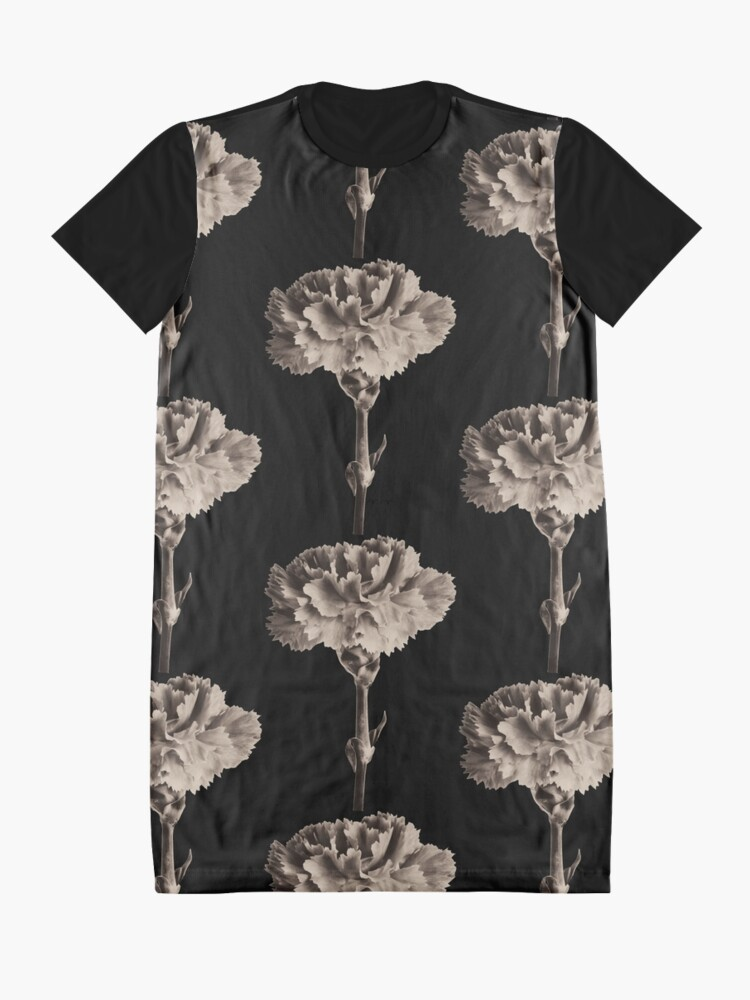 Alternate view of Antique Carnation Graphic T-Shirt Dress