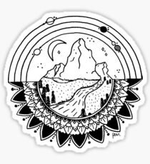 Space Mountain Sticker