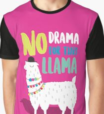 Kein Drama für dieses LLama Grafik T-Shirt