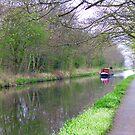 The Union Canal near Ratho, Scotland by Tom Gomez
