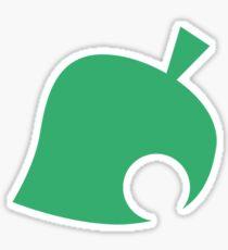 Animal Crossing Symbol - Super Smash Bros. (color) Sticker