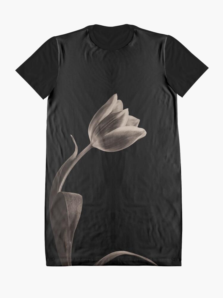 Alternate view of Antique Tulip Graphic T-Shirt Dress