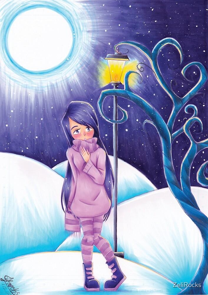 Winter Night by ZeliRocks