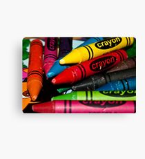 0980 Who needs a playstation ? Canvas Print