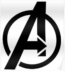 The Avenger Logo Poster