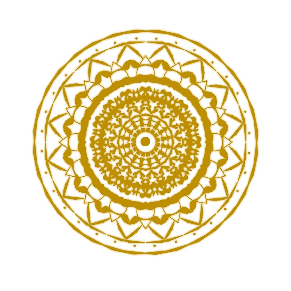 Gold Mandala by b31a1