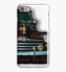 Thank You Dad iPhone Case/Skin