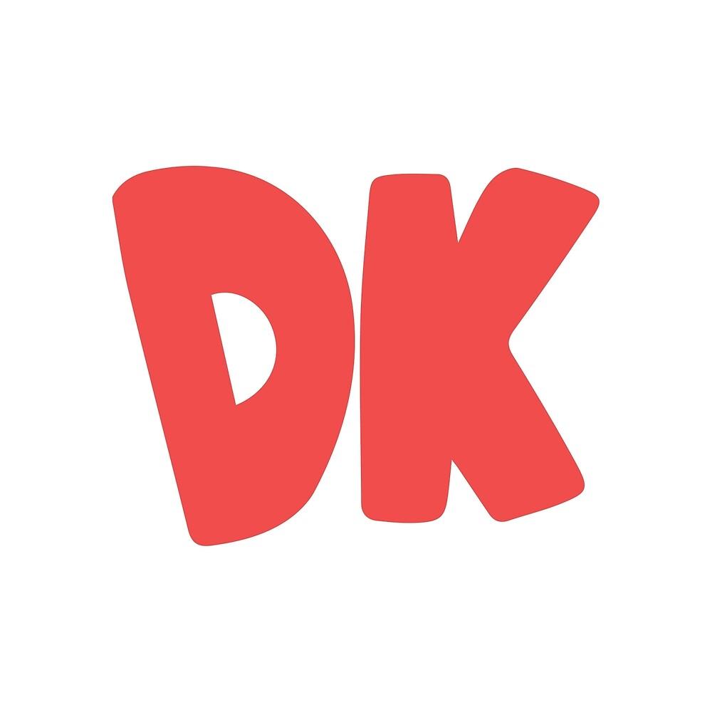 Donkey Kong Symbol - Super Smash Bros. (color) by hopperograss