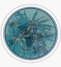 Sea Holly Graphic Artwork Sticker