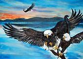 bold eagles by naziahangel