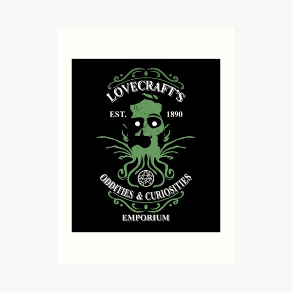 Lovecraft's Emporium Art Print