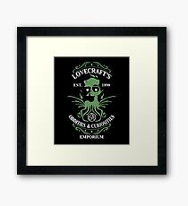 Lovecraft's Emporium Framed Print