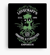 Lovecraft's Emporium Canvas Print