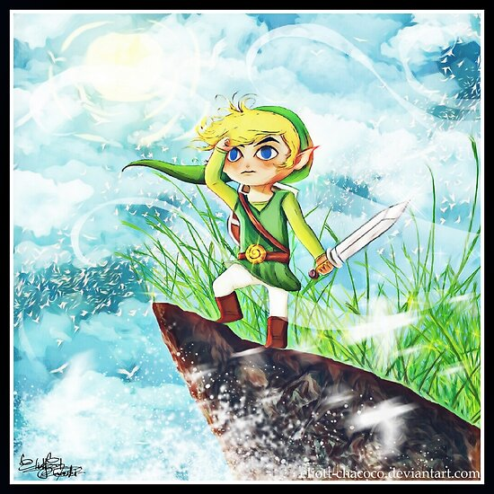 Call of the Sea - The Legend of Zelda by EliottChacoco