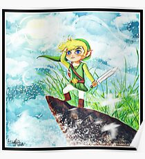 Call of the Sea - The Legend of Zelda Poster