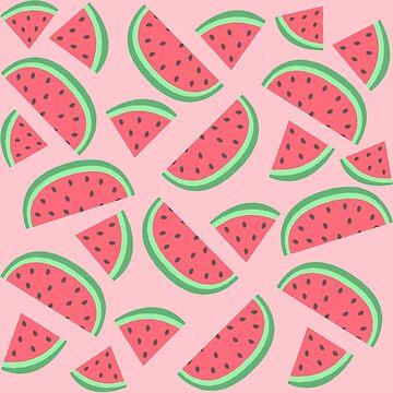 watermelon pattern by DesignsByEmma
