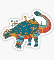 Dinosaur, from the AlphaPod collection Sticker