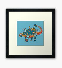 Dinosaur, from the AlphaPod collection Framed Print