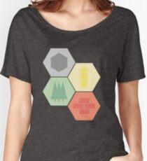 Catan Logos Women's Relaxed Fit T-Shirt