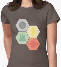 Catan Logos Women's Fitted T-Shirt