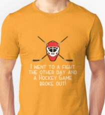 Hockey Design Unisex T-Shirt