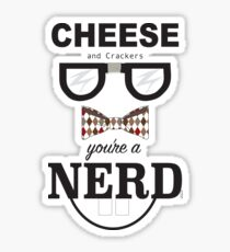 You are A Nerd! Sticker