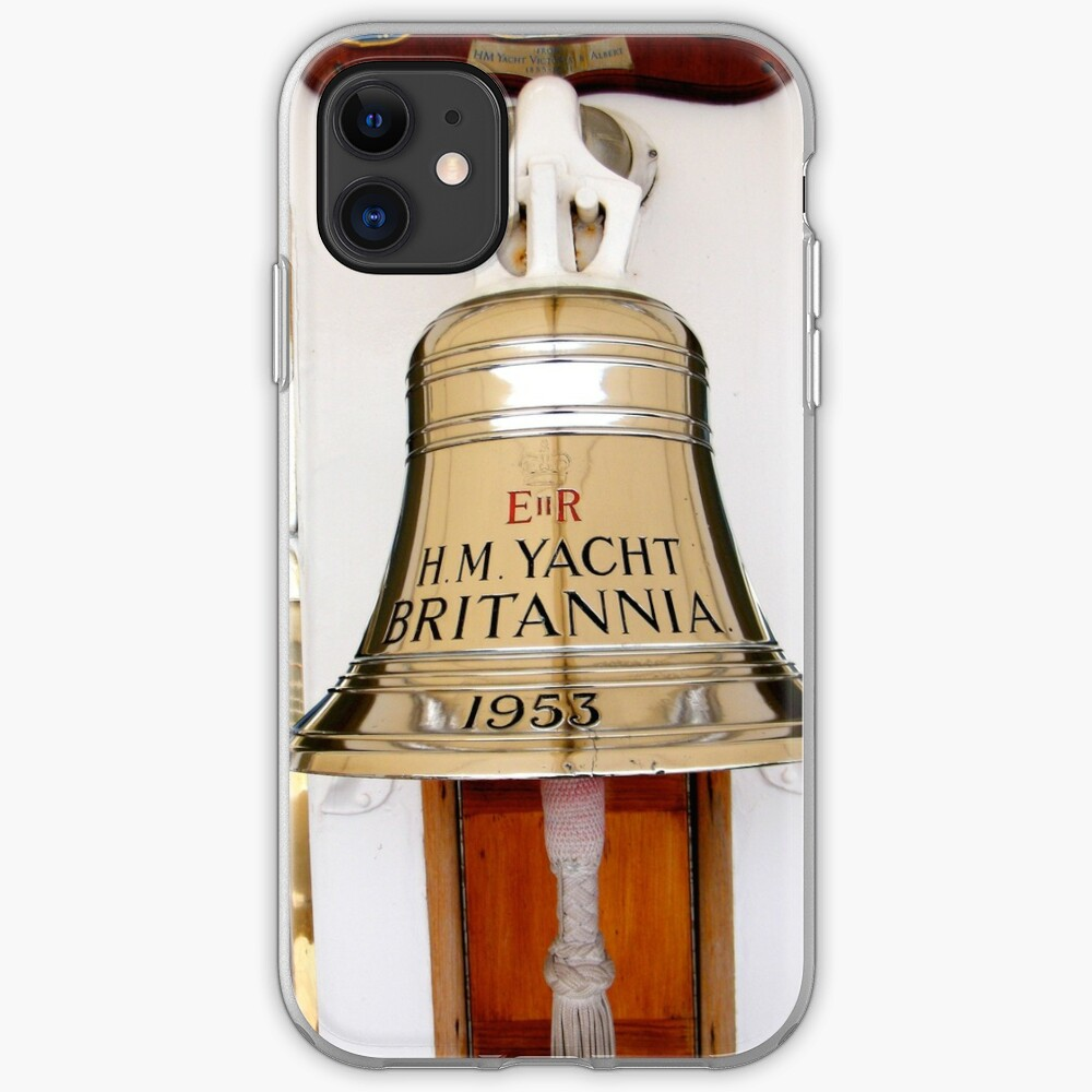 Ship's Bell, Royal Yacht Britannia iPhone Case & Cover