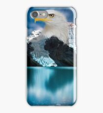 I am Eagle Landscape Blend iPhone Case/Skin