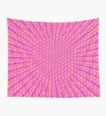 Honeycomb Rays Wall Tapestry