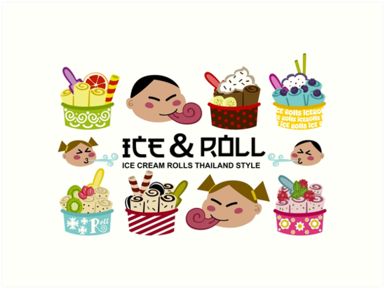Ice Cream Rolls by Sonia Pascual