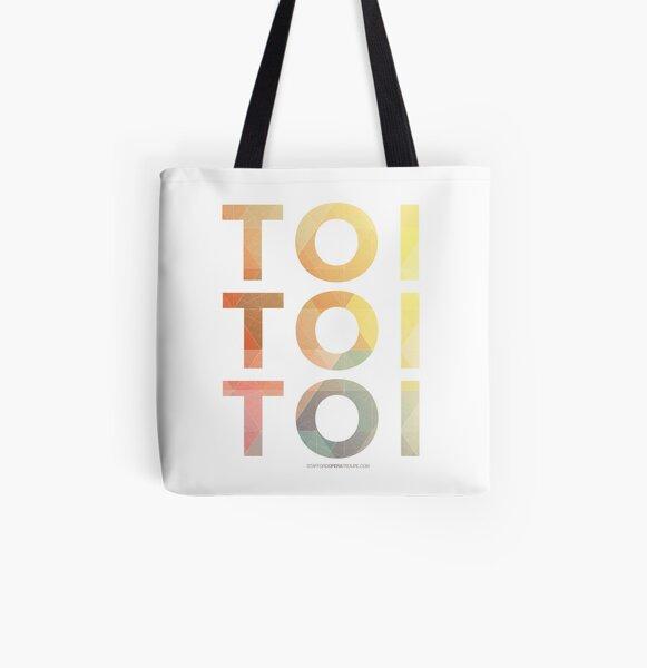 Toi Toi Toi All Over Print Tote Bag