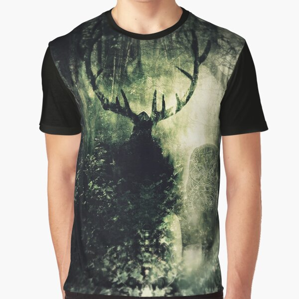 Lord Of The Woodlands (Cernunoss) 2017 Graphic T-Shirt