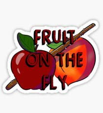 Fruit on the Fly Sticker