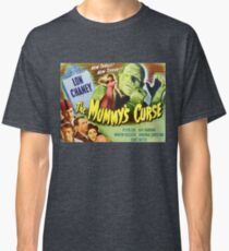 The Mummy's curse - vintage horror movie poster, landscape Classic T-Shirt