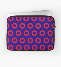 Jon Fishman - Phish Drummer Red Circle Print Laptop Sleeve