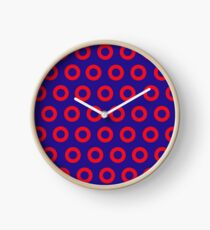 Jon Fishman - Phish Drummer Red Circle Print Clock