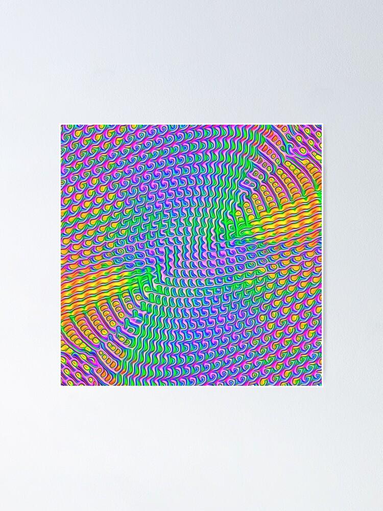 Alternate view of Pattern loud Poster