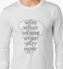 Mystery? White on White T-Shirt