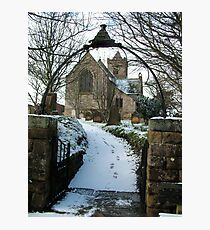 Easington Church--North Yorks Photographic Print